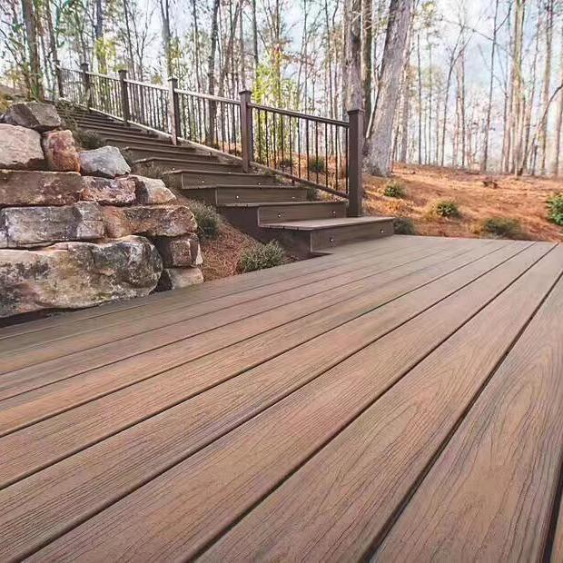 WPC super-shield decking for gardon decking